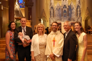 Here are the sons I now call fathers...along with the women who keep us on the straight-and-narrow.