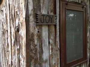 'Joy' is the address: So smile already, will ya?