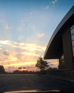 A new day dawns beautiful at St. Joe's...as heaven welcomes one of our best.