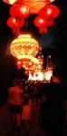 Lanterns light the way...