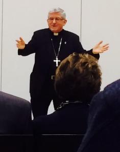 Cardinal Thomas Collins at SLU...