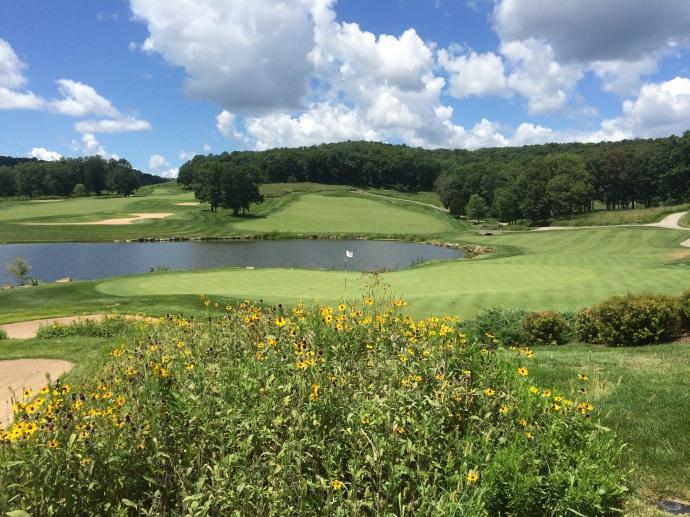 #13 at BVGC: Even more beautiful after a par!