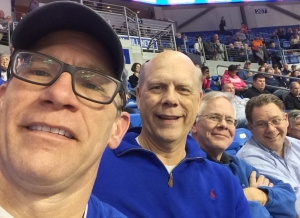 Schroeder brothers, in the house for the SLU win...